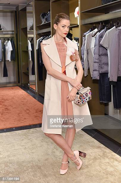 Actress Jaime King attends Fendi And Vogue Celebrate Fendi Beverly Hills at Fendi on March 24 2016 in Beverly Hills California