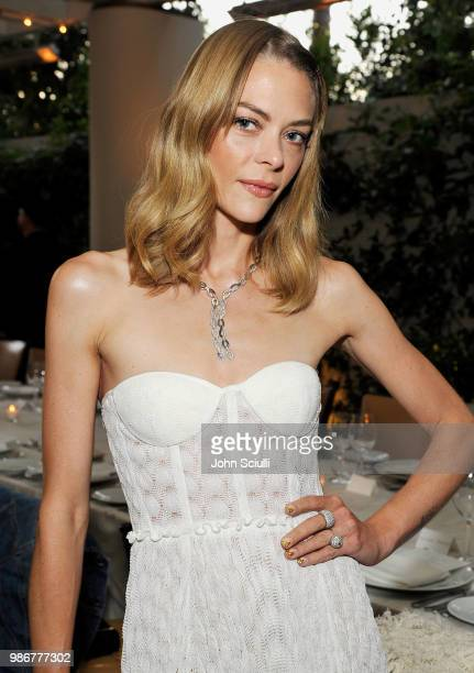 Actress Jaime King attends Haute Living's celebration of Lucy Hale's cover with Real is a Diamond at the Waldorf Astoria Beverly Hills on June 28,...