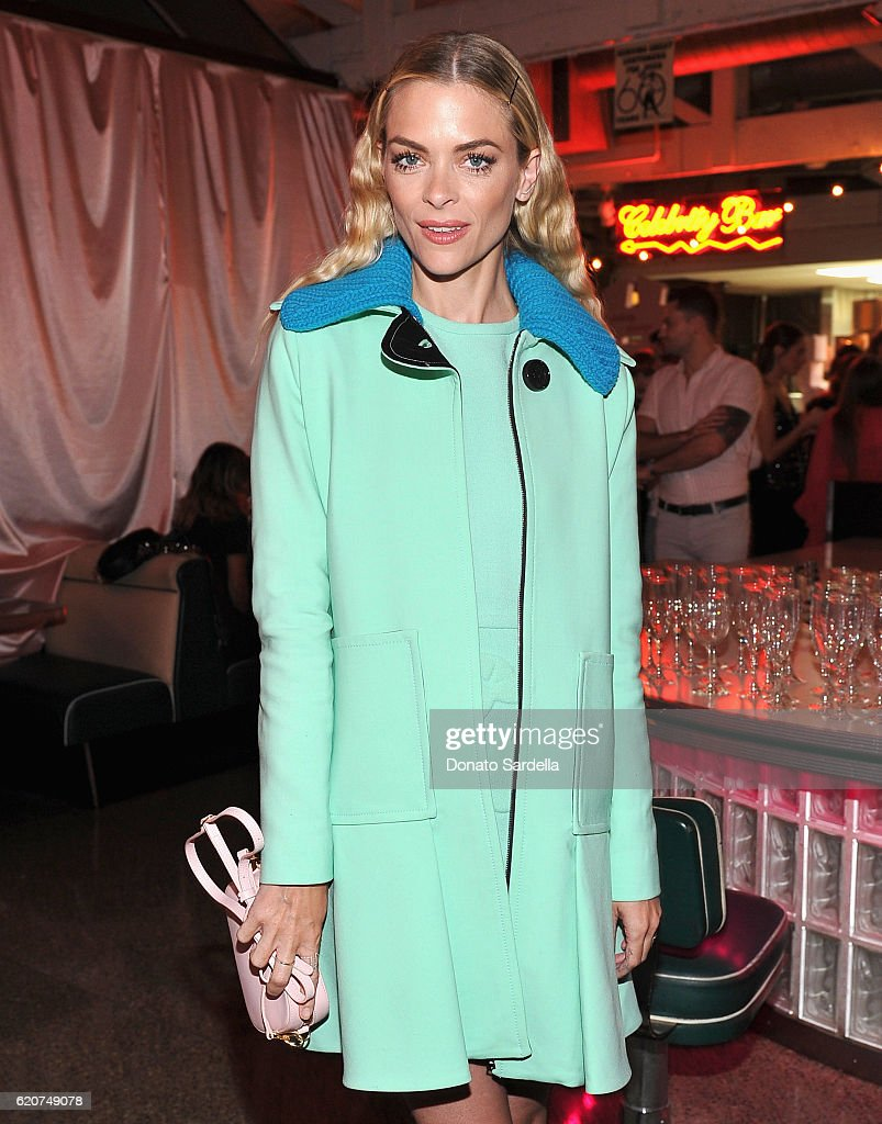 Actress Jaime King attends Poppy Jamie, Suki Waterhouse, Leo Seigal and Cade Hudson celebration of the launch of POP & SUKI on November 2, 2016 in Los Angeles, California.