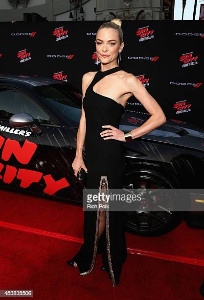 Actress Jaime King attends SIN CITY A DAME TO KILL FOR premiere presented by Dimension Films in partnership with Time Warner Cable Dodge and DeLeon...