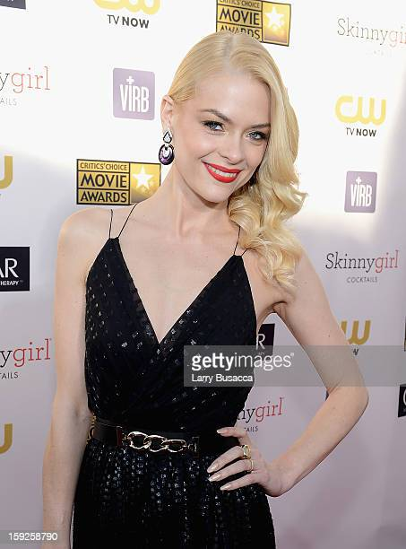 Actress Jaime King attends the 18th Annual Critics' Choice Movie Awards held at Barker Hangar on January 10 2013 in Santa Monica California