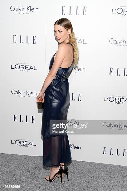 Actress Jaime King attends the 22nd Annual ELLE Women in Hollywood Awards at Four Seasons Hotel Los Angeles at Beverly Hills on October 19 2015 in...