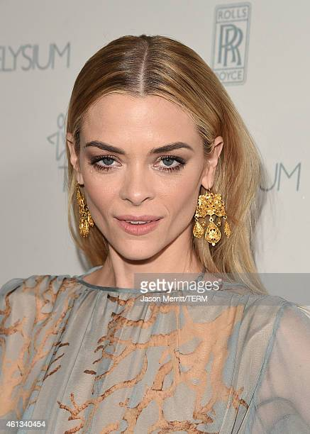 Actress Jaime King attends the 8th Annual HEAVEN Gala presented by Art of Elysium and Samsung Galaxy at Hangar 8 on January 10 2015 in Los Angeles...