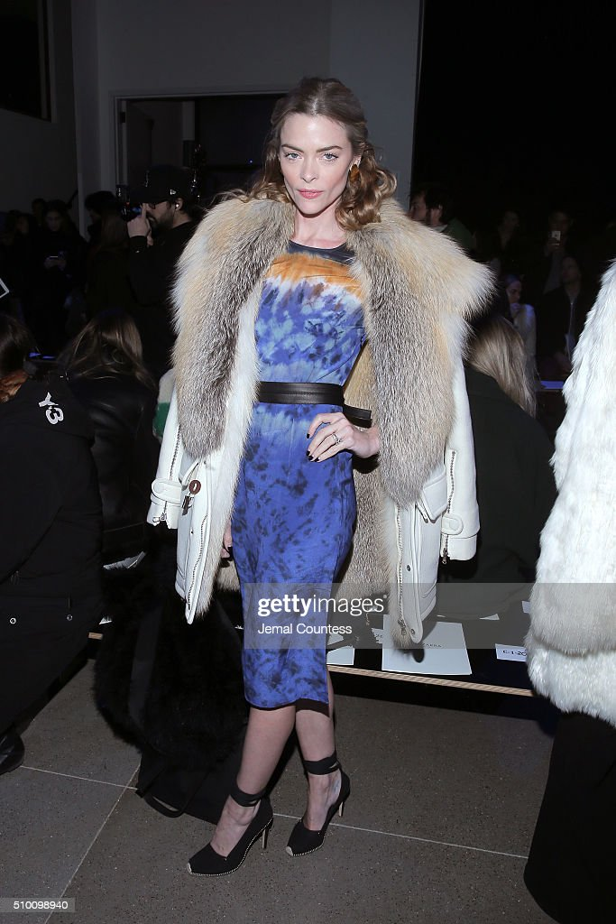 Actress Jaime King attends the Altuzarra Fall 2016 fashion show during New York Fashion Week at Spring Studios on February 13, 2016 in New York City.