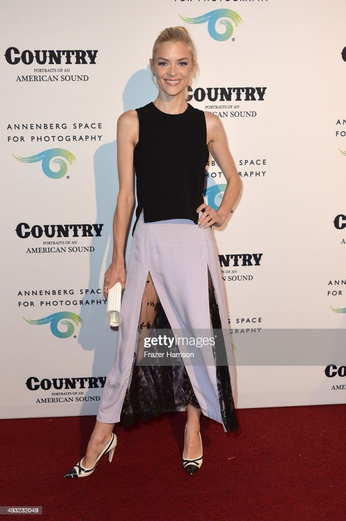 Actress Jaime King attends the Annenberg Space for Photography Opening Celebration for 'Country, Portraits of an American Sound' at the Annenberg Space for Photography on May 22, 2014 in Century City, California.