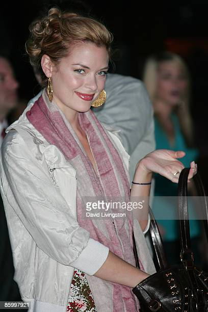 Actress Jaime King attends the Armani Exchange Watch Launch at the SLS Hotel on April 15 2009 in Los Angeles California