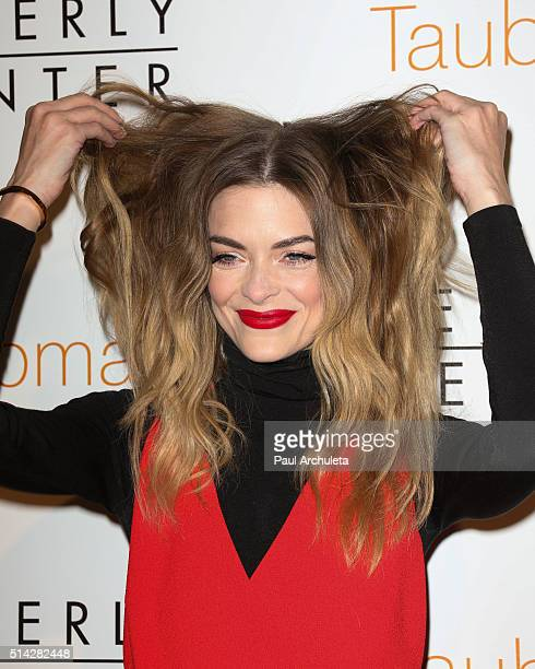 Actress Jaime King attends 'The Beverly Center An Icon Reimagined' opening ceremony at The Beverly Center on March 7 2016 in Los Angeles California