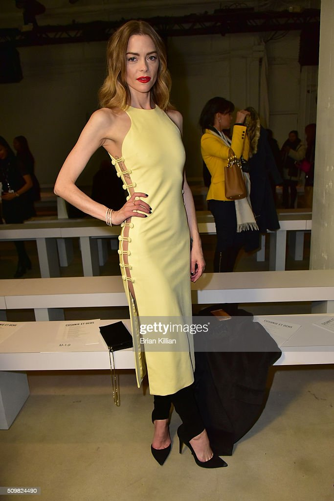 Cushnie et Ochs - Front Row & Backstage - Fall 2016 New York Fashion Week: The Shows