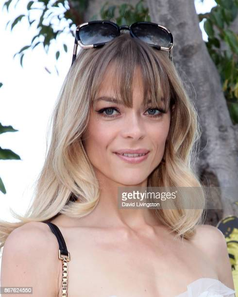 Actress Jaime King attends the CYBEX and Jeremy Scott's Halloween extravaganza at the Hollywood Castle on October 28 2017 in Hollywood California