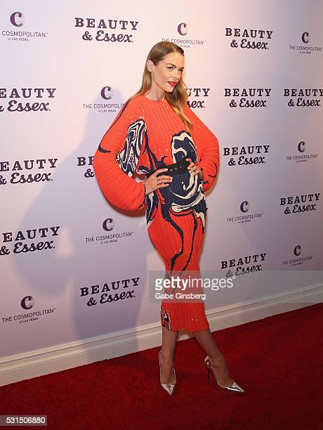 Actress Jaime King attends the grand opening of Beauty Essex at The Cosmopolitan of Las Vegas on May 14 2016 in Las Vegas Nevada