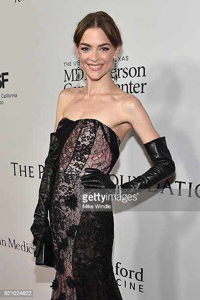 Actress Jaime King attends the launch of the Parker Institute for Cancer Immunotherapy an unprecedented collaboration between the country's leading...