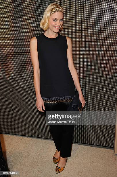 Actress Jaime King attends the Marni at HM Collection Launch at Lloyd Wright's Sowden House on February 17 2012 in Los Angeles California
