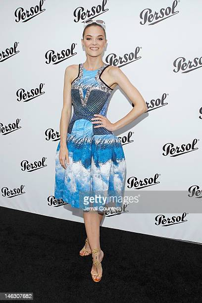 Actress Jaime King attends the Persol Magnificent Obsessions exhibition honoring Arianne Phillips Patricia Clarkson and Todd Haynes at the MOMI on...