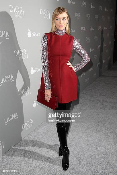 Actress Jaime King attends the premiere of The Orchard's 'DIOR I' at LACMA on April 15 2015 in Los Angeles California