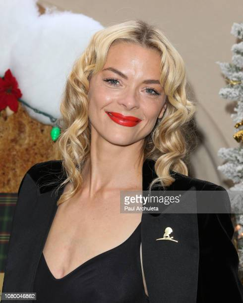 Actress Jaime King attends the the Brooks Brothers annual holiday celebration in Los Angeles to Benefit St Jude at the Beverly Wilshire Four Seasons...