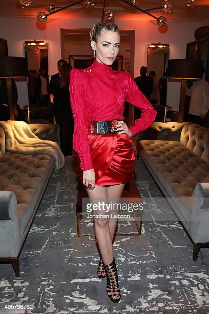Actress Jaime King attends the unveiling of the RH Modern Gallery in Los Angeles on November 4 2015