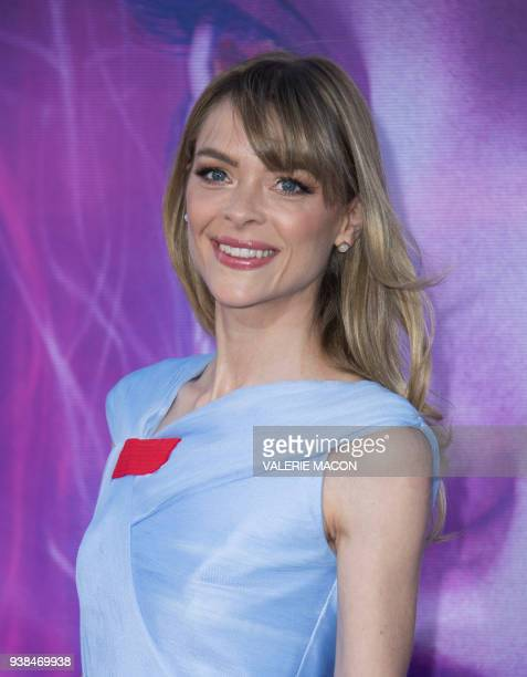 Actress Jaime King attends The Warner Bros Pictures World Premiere of 'Ready Player One' at the Dolby Theater on March 26 in Hollywood California /...