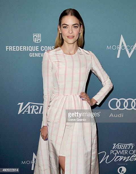 Actress Jaime King attends Variety's Power Of Women Luncheon at the Beverly Wilshire Four Seasons Hotel on October 9, 2015 in Beverly Hills,...
