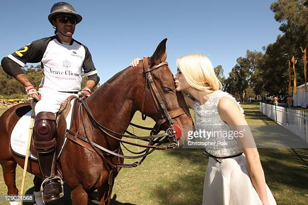 Actress Jaime King attends Veuve Clicquot Polo Classic Los Angeles at Will Rogers State Historic Park on October 9, 2011 in Los Angeles, California.