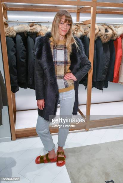 Actress Jaime King attends Woolrich Yorkdale Grand Opening at Yorkdale Shopping Center on December 7 2017 in Toronto Canada