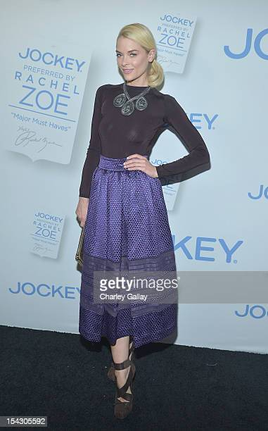 Actress Jaime King celebrates the launch of Rachel ZoeÕs ÒMajor Must HavesÓ from Jockey at Sunset Tower on October 17 2012 in West Hollywood...