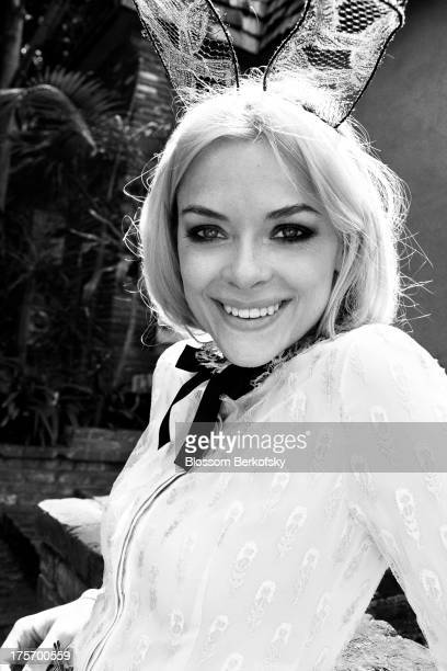 Actress Jaime King is photographed for The Block on July 7 2011 in Los Angeles California PUBLISHED IMAGE
