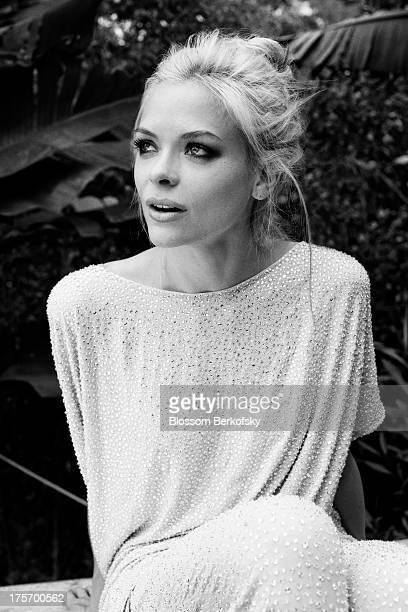 Actress Jaime King is photographed for The Block on July 7 2011 in Los Angeles California
