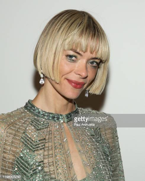 Actress Jaime King is seen in Beverly Hills on January 05, 2020 in Los Angeles, California.
