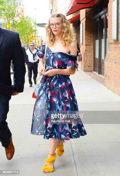Actress Jaime King is seen walking in Soho on May 2, 2018 in New York City.