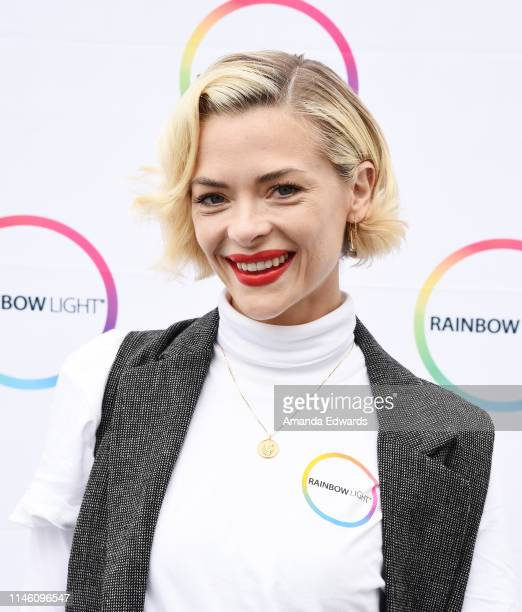 Actress Jaime King teams up with Rainbow Light and Vitamin Angels to help women in need at Claris Health on April 30, 2019 in Inglewood, California.