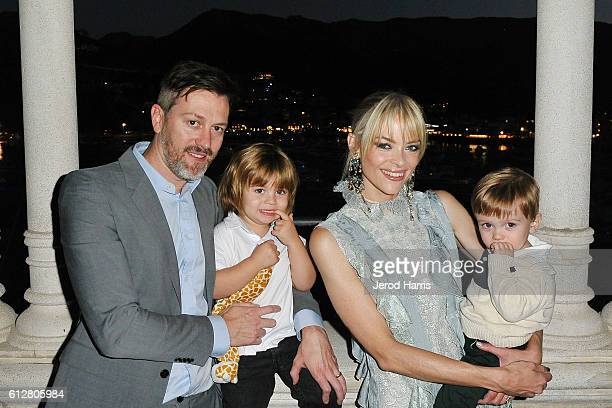 Actress Jaime King visits the Catalina Casino with her family at the 2016 Catalina Film Festival on October 1 2016 in Avalon California