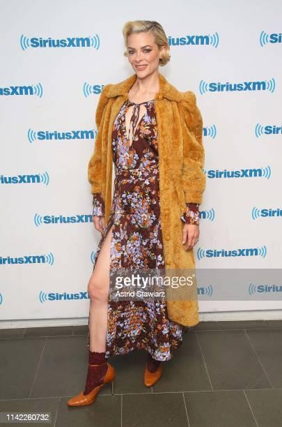 Actress Jaime King visits the SiriusXM Studios on April 12 2019 in New York City