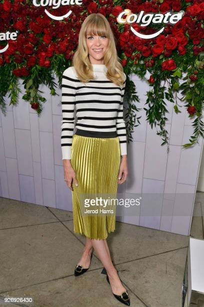 Actress Jaime King was among the celebrities in attendance at the Colgate¨ Optic White¨ Beauty Lab on March 3, 2018 in Los Angeles, California.