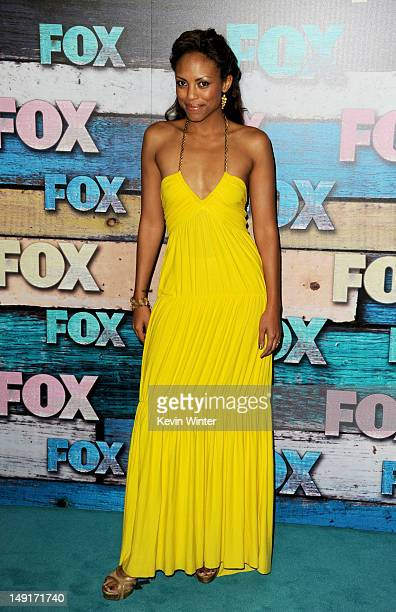 Actress Jaime Lee Kirchner arrives at the FOX AllStar party on July 23 2012 in West Hollywood California