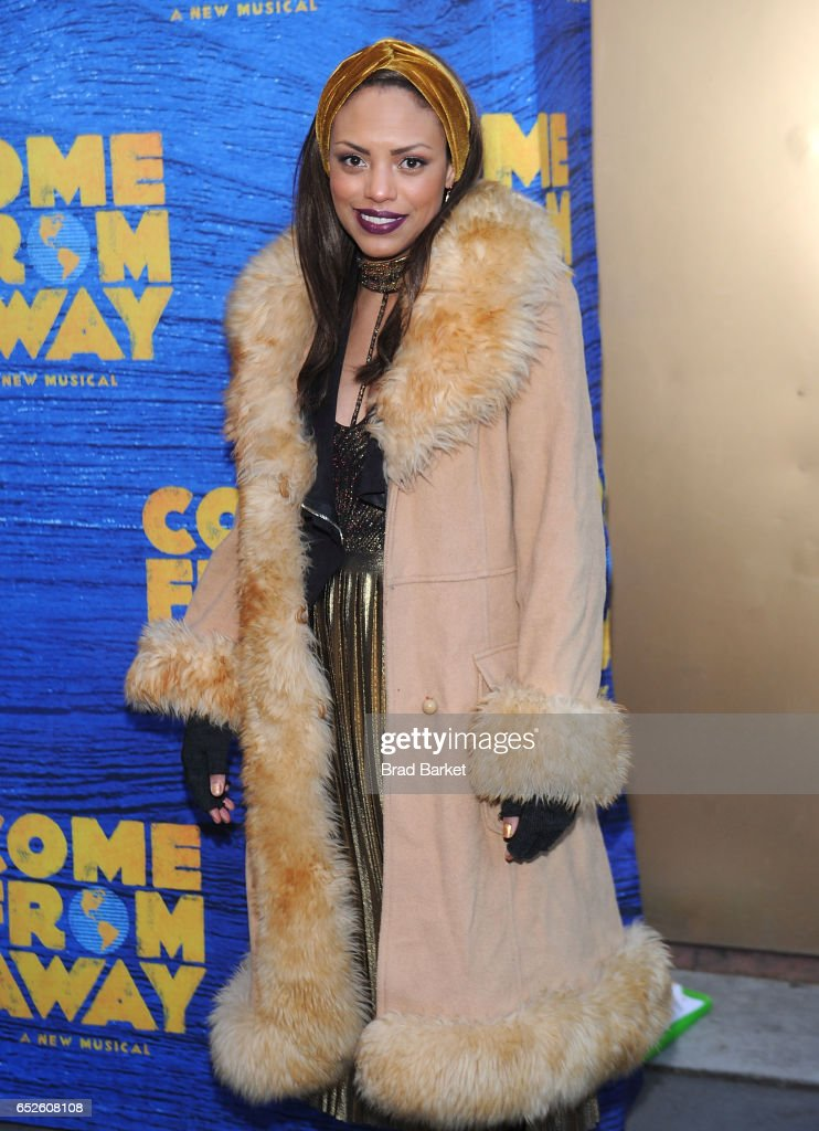 Actress Jaime Lee Kirchner attends the 'Come From Away' Broadway Opening Night - Arrivals & Curtain Call at Gerald Schoenfeld Theatre on March 12, 2017 in New York City.