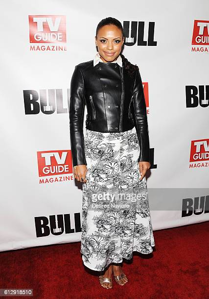 Actress Jaime Lee Kirchner attends TV Guide Magazine Celebrates CBS' Michael Weatherly at HGU New York on October 5 2016 in New York City