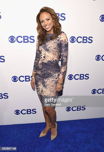 Actress Jaime Lee Kirchner of 'Bull' attends the 2016 CBS Upfront at Oak Room on May 18 2016 in New York City