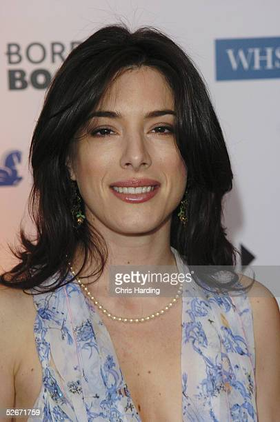 Actress Jaime Murray arrives at the annual British Book Awards at Grosvenor House Park Lane on April 20 2005 in London England The literary awards...