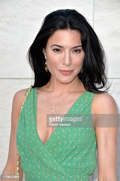 Actress Jaime Murray arrives at the Showtime Celebrates 8 Seasons Of 'Dexter' at Milk Studios on June 15 2013 in Hollywood California