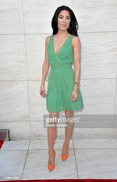 Actress Jaime Murray arrives at the Showtime Celebrates 8 Seasons Of Dexter at Milk Studios on June 15 2013 in Hollywood California