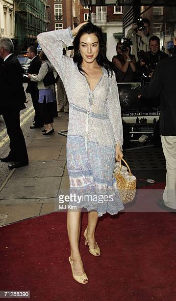 Actress Jaime Murray arrives at the UK premiere of 'The Wind That Shakes The Barley' at the Curzon Mayfair on June 21 London England The Premiere is...