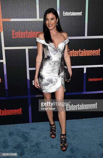 Actress Jaime Murray attends Entertainment Weekly's annual ComicCon celebration at Float at Hard Rock Hotel San Diego on July 26 2014 in San Diego...