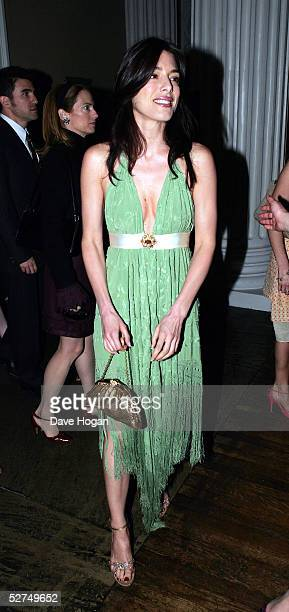 """Actress Jaime Murray attends the aftershow party following the European Premiere of """"Kingdom of Heaven"""", at Banqueting House, Whitehall on May 2,..."""