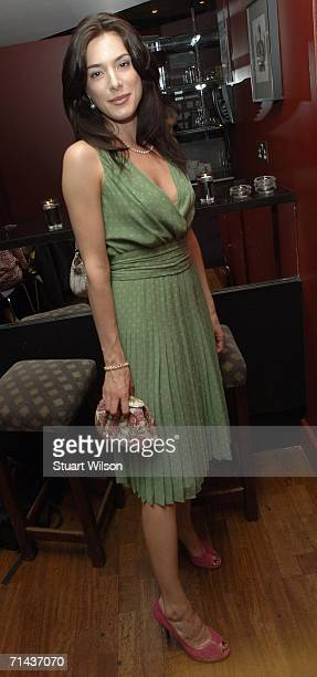 Actress Jaime Murray attends the Chloe Francis hen party at the Groucho Club July 13, 2006 in London, England.