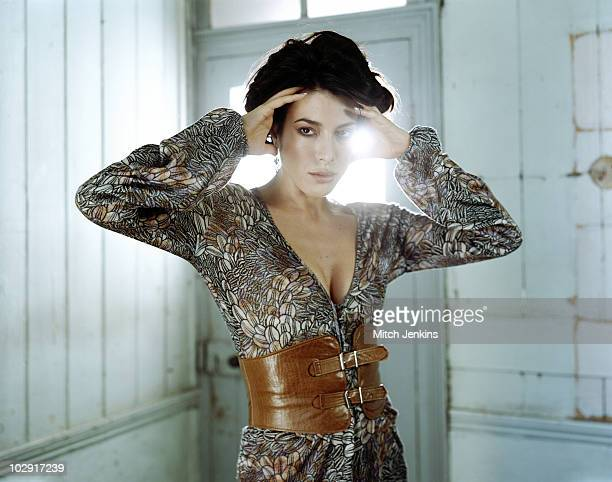 Actress Jaime Murray poses for a portrait shoot in London UK