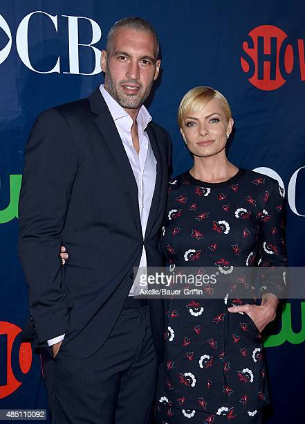 Actress Jaime Pressly and Hamzi Hijazi arrive at CBS, CW And Showtime 2015 Summer TCA Party at Pacific Design Center on August 10, 2015 in West...