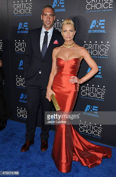 Actress Jaime Pressly and Hamzi Hijazi attend the 5th annual Critics' Choice Television Awards at The Beverly Hilton Hotel on May 31 2015 in Beverly...
