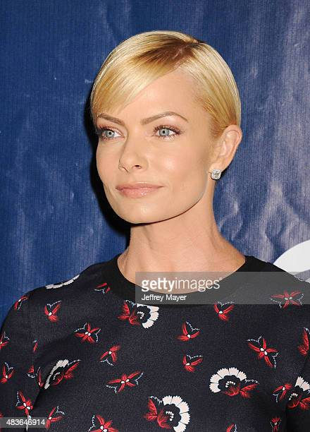 Actress Jaime Pressly arrives at the CBS CW And Showtime 2015 Summer TCA Party at Pacific Design Center on August 10 2015 in West Hollywood California