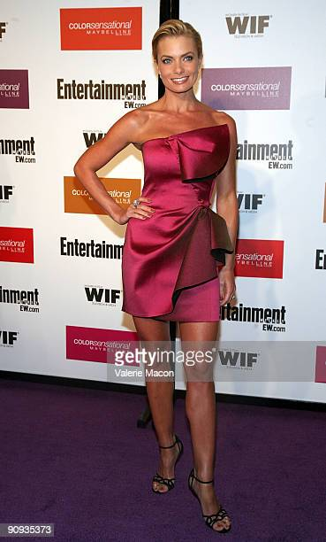 Actress Jaime Pressly arrives at the Entertainment Weekly And Women In Film's PreEmmy Party on September 17 2009 in Los Angeles California