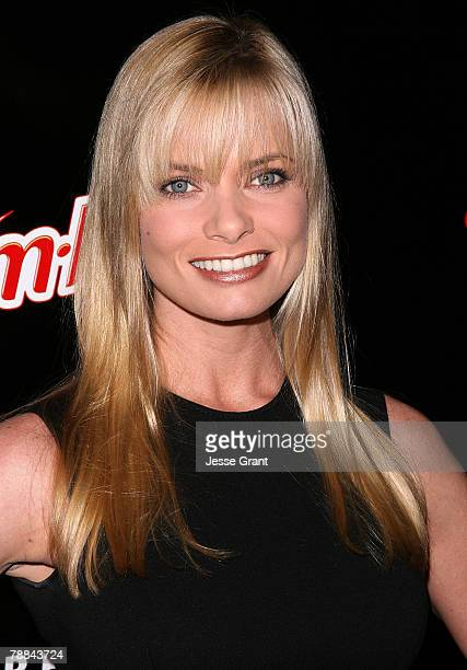 Actress Jaime Pressly arrives at the Style Your Slim event presented by Slim Fast at Boulevard3 on January 8 2007 in Hollywood California